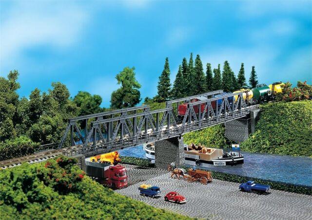 Faller 222578 N 2 Kastenbrücken mit Brückenköpfen  Neu OVP -