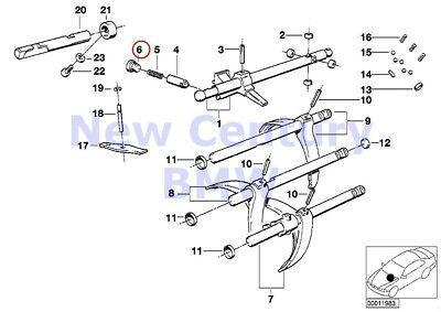 BMW Genuine Individual Transmission Parts Blind Plug E12 E21 E23 E24 E28 E3 E30