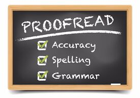 ESL PROOFREADING, COPY-EDITING AND COPY-WRITING SERVICES