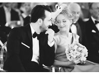 Documentary style (no posing) wedding photography, wedding photographer. Over 50% discount.