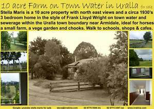 Location is Eveything! 10 acre farm + house on town water Uralla Uralla Uralla Area Preview