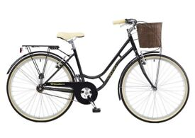 Viking Winsor Ladies Heritage Hybrid 16' single speed bike 26' wheel (+CHAIN LOCK AND HAND PUMP)