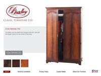 High quality Bradley Mahogany Wardrobes. Free on collection