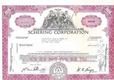Schering Corp., 1950-60s, var. colours