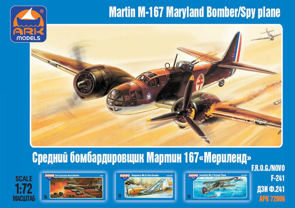 ARK MODELS® 72006 Martin M-167 Maryland Bomber/SpyPlane in 1:72