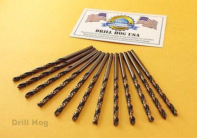 """Drill Hog USA 5/32"""" Drill Bit 5/32 Molybdenum M7 Lifetime Wa"""