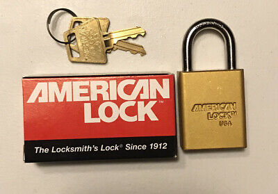 American Lock Padlock Key Hardened Series 1105 Usa Brand New Buy More And Save