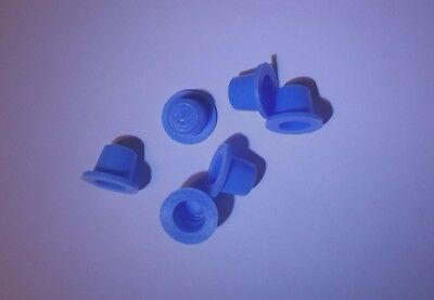 """4 PAIRS - SALT & PEPPER SHAKERS REPLACEMENT PLUGS/STOPPERS - FITS 1/2"""" OPENING"""