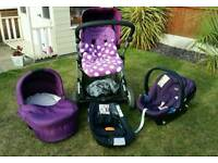 Mamas and papas zoom travel system/buggy/pushchair