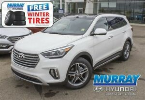 2017 Hyundai Santa Fe XL Limited AWD*FREE WINTER TIRES *