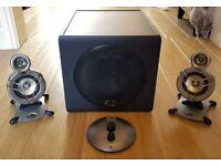 Klipsch subwoofer & satellite speakers