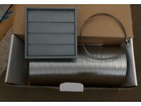 Cooker Hood Venting Kit 6 inch ; 150 mm x 1.5 meters - New and Boxed