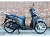 Honda Vision 110 (67 REG) in grey, NEW SHAPE! One Previous Owner, ONL