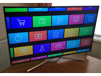 "ULTRA THIN- 40"" SAMSUNG Smart 4k UHD HDR -1500hz- LED TV -FREEVIEW/SAT HD -VOICE CNTL- -WARRANTY"