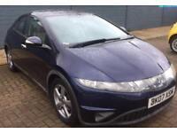 Honda Civic 1.8 Petrol automatic HPI full service history