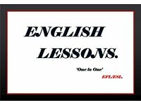 ENGLISH LESSONS- ONE TO ONE-GRAMMAR-PRONUNCIATION-CONVERSATION-SKYPE