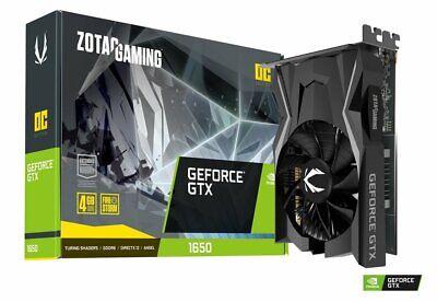 ZOTAC Gaming GeForce® GTX 1650 Single Fan OC Graphics Card