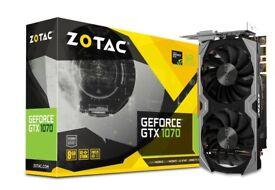 ZOTAC GeForce® GTX 1070 Mini - 8 months old for sale