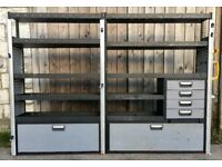 Van Racking / Shelving - MODUL - Ford Transit - Good Condition - Suitable For Large Van