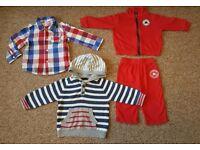 BABY BOY 6-9 CLOTHES BUNDLE
