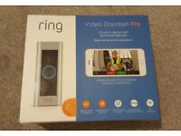 Ring Pro Video Doorbell - New Boxed