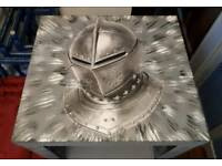 Knight display unit with unique paint effect by Andyman upcycling