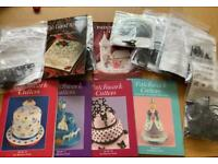 Patchwork Cutters & Books - As new - Sugarcraft 10