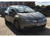 Salavage Honda Civic 2.2 se I-ctdi 2006 Damaged