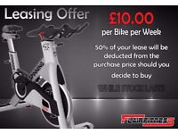 Spin Bike (Spinning/Bikes/Spinner/Gym/Equipment/Indoor/Cycle/Fitness)