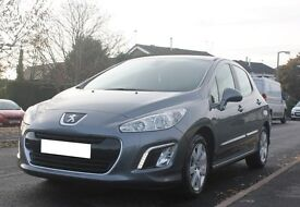 PEUGEOT 308 1.6 HDI ACTIVE 2011 ** £20 TAX ** EXCELLENT CONDITION ** LOW MILES
