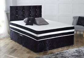 BRAND NEW BEDS AT TRADE PRICES - LEATHER BEDS - SLEIGH BEDS - WOODEN BEDS - CRUSH VELVET BEDS