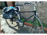 Giant electric bike, good condition, including battery, drive control and charger