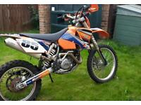 Ktm 400 exc road registered. Not cr rm yz kx swaps for 250?