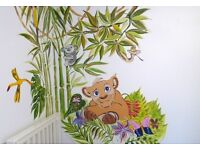 Kids rooms Design and Wallpainting
