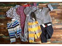 Boys 12-18 month clothing bundle - new and nearly new