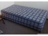 Single bed with mattress. Immaculate.