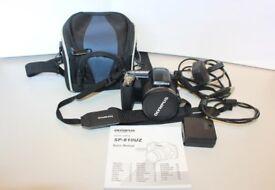 Olympus SP Series SP-810UZ 14.0MP Digital Camera - Black