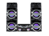 Panasonic Max DJ SC-MAX370 Extra Large Audio System with Max DJ Effect and Giant 4-Way Speaker Box