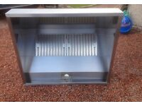 Extraction canopy / cooker hood , stainless steel with baffle filters
