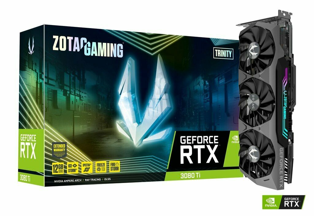 😍 ZOTAC GAMING NVIDIA GeForce RTX 3080 Ti Trinity Grafikkarte NEU Händler 😍
