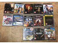 PS3 various games x 13