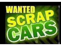 SCRAP CARS VANS WANTED TODAY LONDON