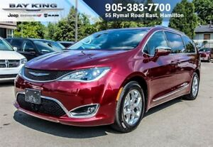 2017 Chrysler Pacifica LIMITED, STOW N' GO, DVD, BLUETOOTH, 360