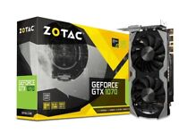 Zotac Nvidia Gerfoce GTX 1070 8GB GPU / Graphics Card x2