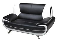 Leather Sofas 3+2 New Boxed and Free Delivery Palermo