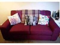 Free from diss Mulberry Sofa, like new, pet free, smoke free home
