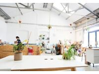 Desk spaces in beautiful shared workspace/coworking - Courtyard mews btw Brixton / Stockwell