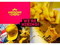 Staff required for busy food outlet.