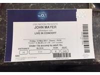 John Mayer concert 02 London Fri 12th May