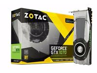ZOTAC GEFORCE GTX 1070 FOUNDERS EDITION - BRAND NEW, SEALED